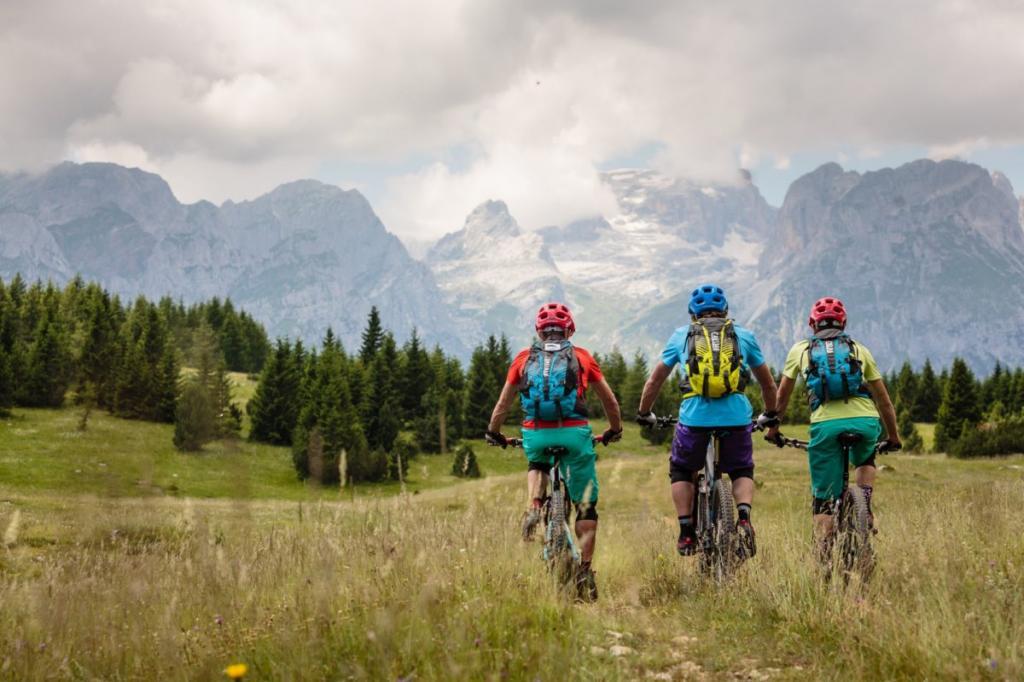 mountain bike Dolomiti Paganella Trentino