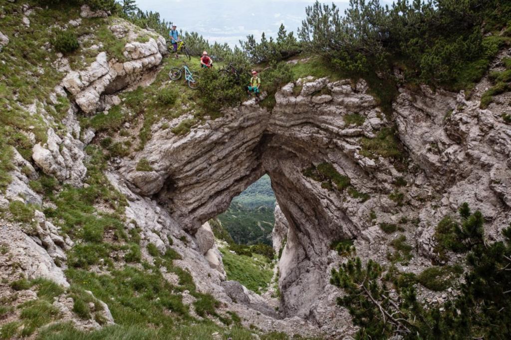 mountain bike Dolomiti Paganella Trentino 8