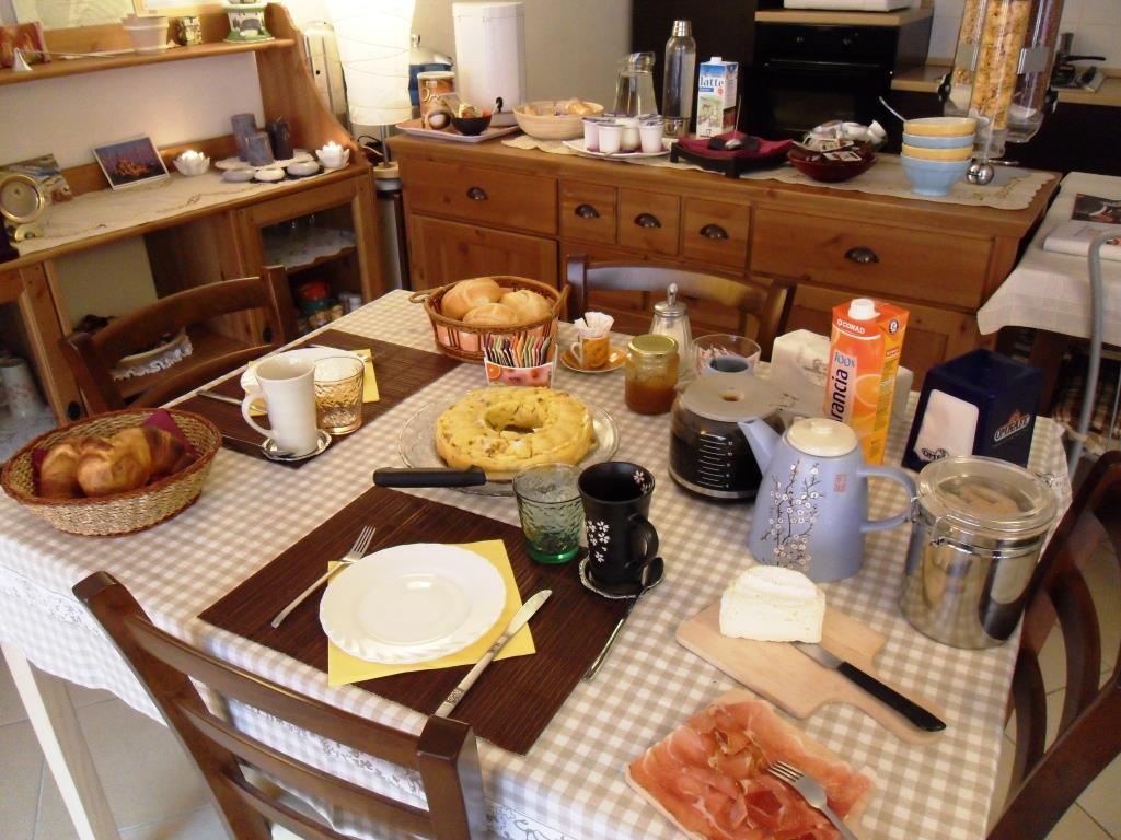 tavola delle colazioni