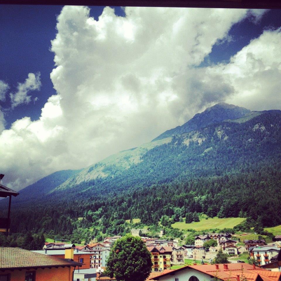 Vista dal Park Hotel Sport**** di Andalo