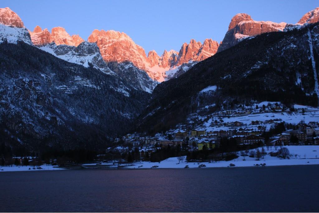 alba sul Gruppo  Brenta w