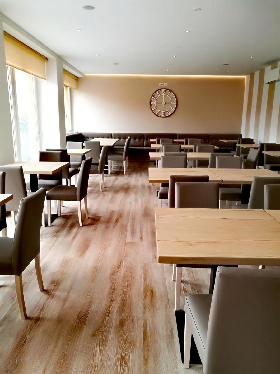 sala da pranzo hotel paganella al lago di molveno