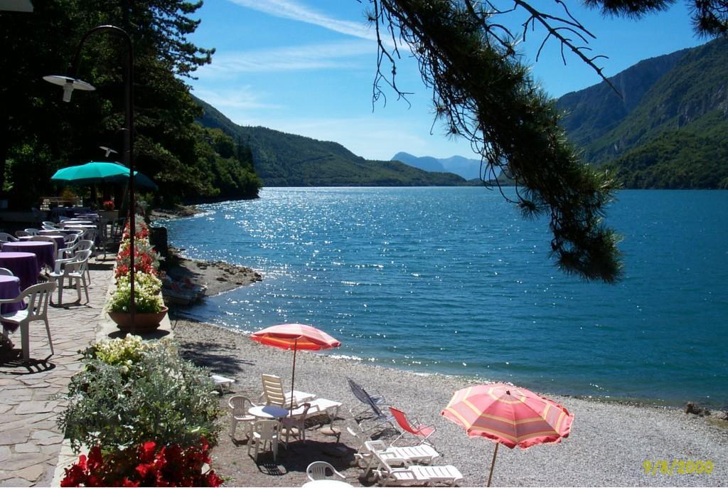Lago Park Molveno spiaggia