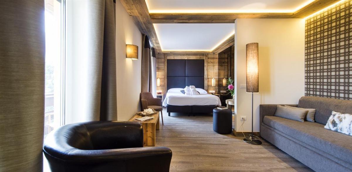 suite stella alpina romantica e accogliente