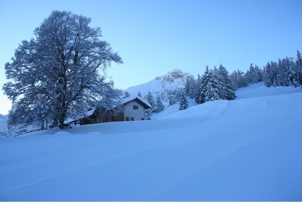 malga Tovre inverno