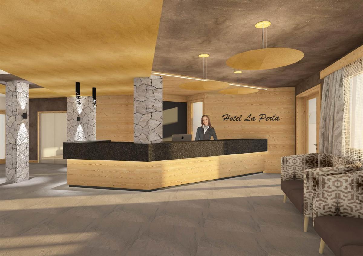 Hotel La Perla - Ingresso modificato 2