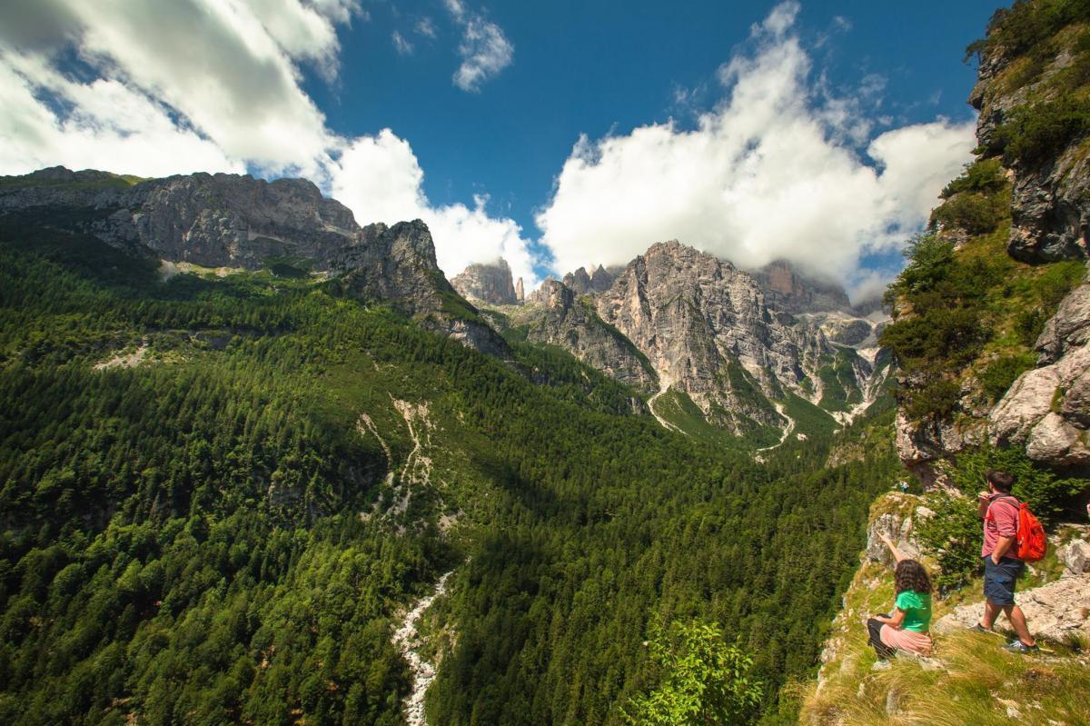 Dolomiti di Brenta_sentiero Pardel Croz Altissimo_