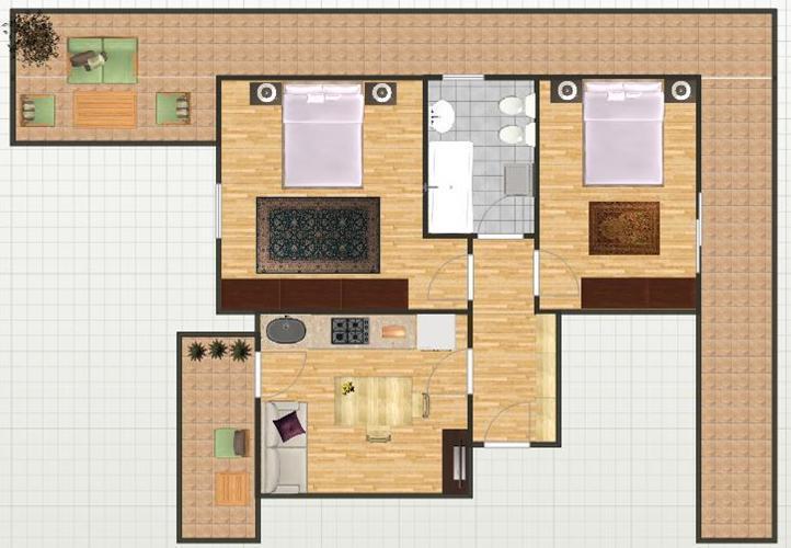 Appartamenti Al Sole - piantina