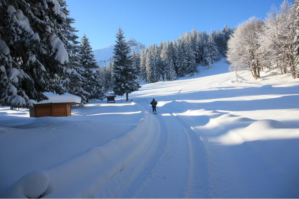 Molveno Pradel winter
