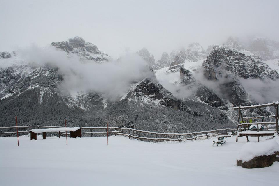 panorama Rifugio La Montanara inverno 02