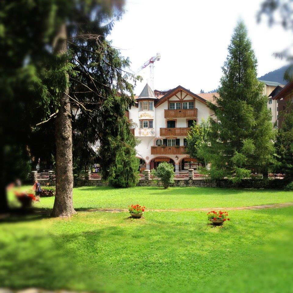 Una zone del parco, Park Hotel Sport Andalo