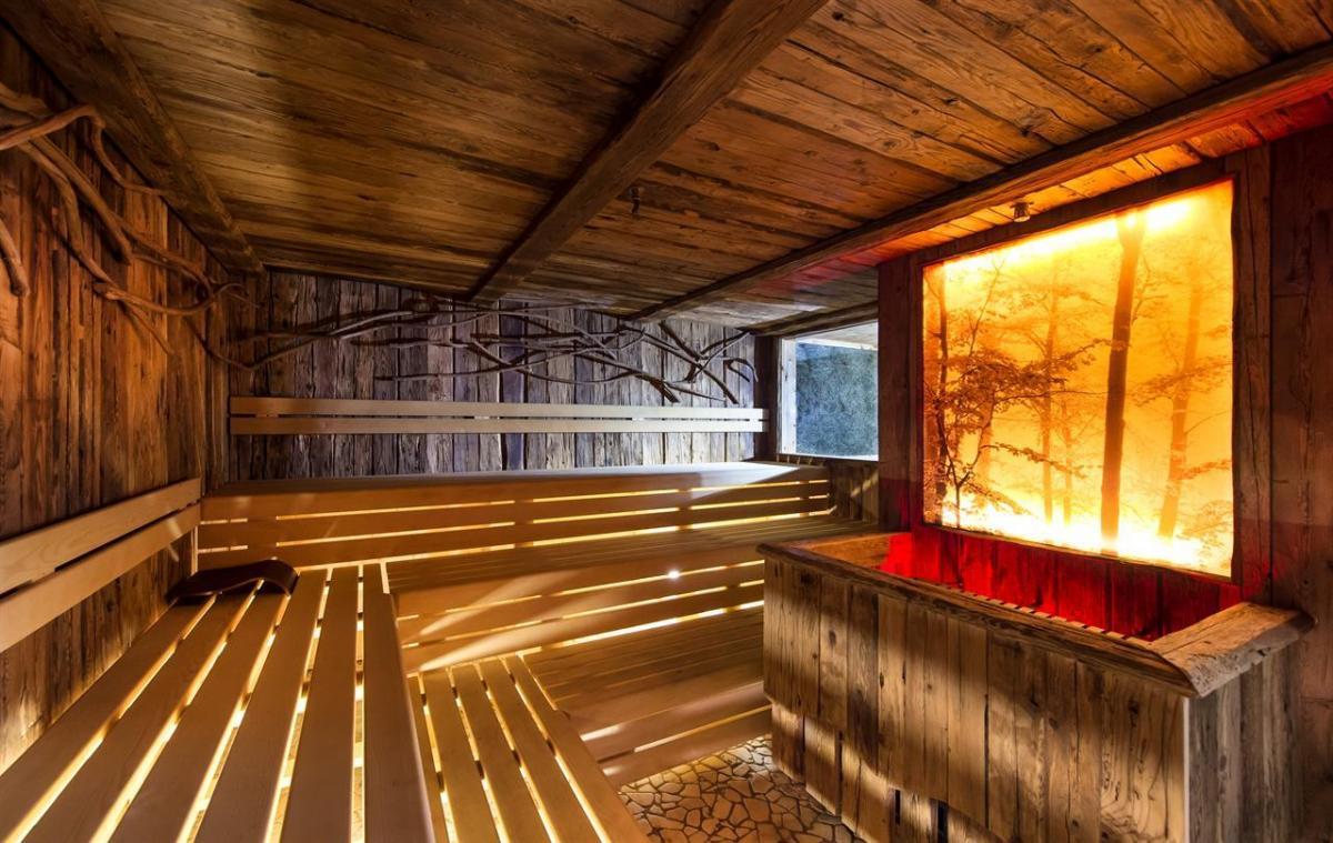 sauna tirolese