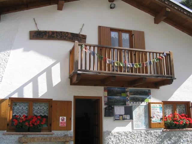 entrata al rifugio Croz dell'Altissimo : Dolomiti