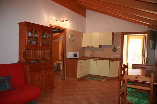 cucina Appartamenti Al Moro Andalo