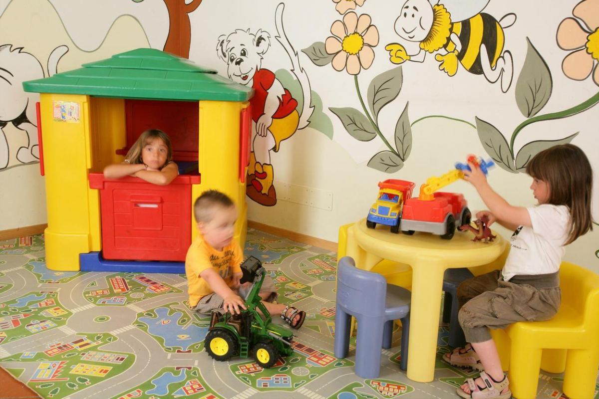 sala giochi bambini Andalo