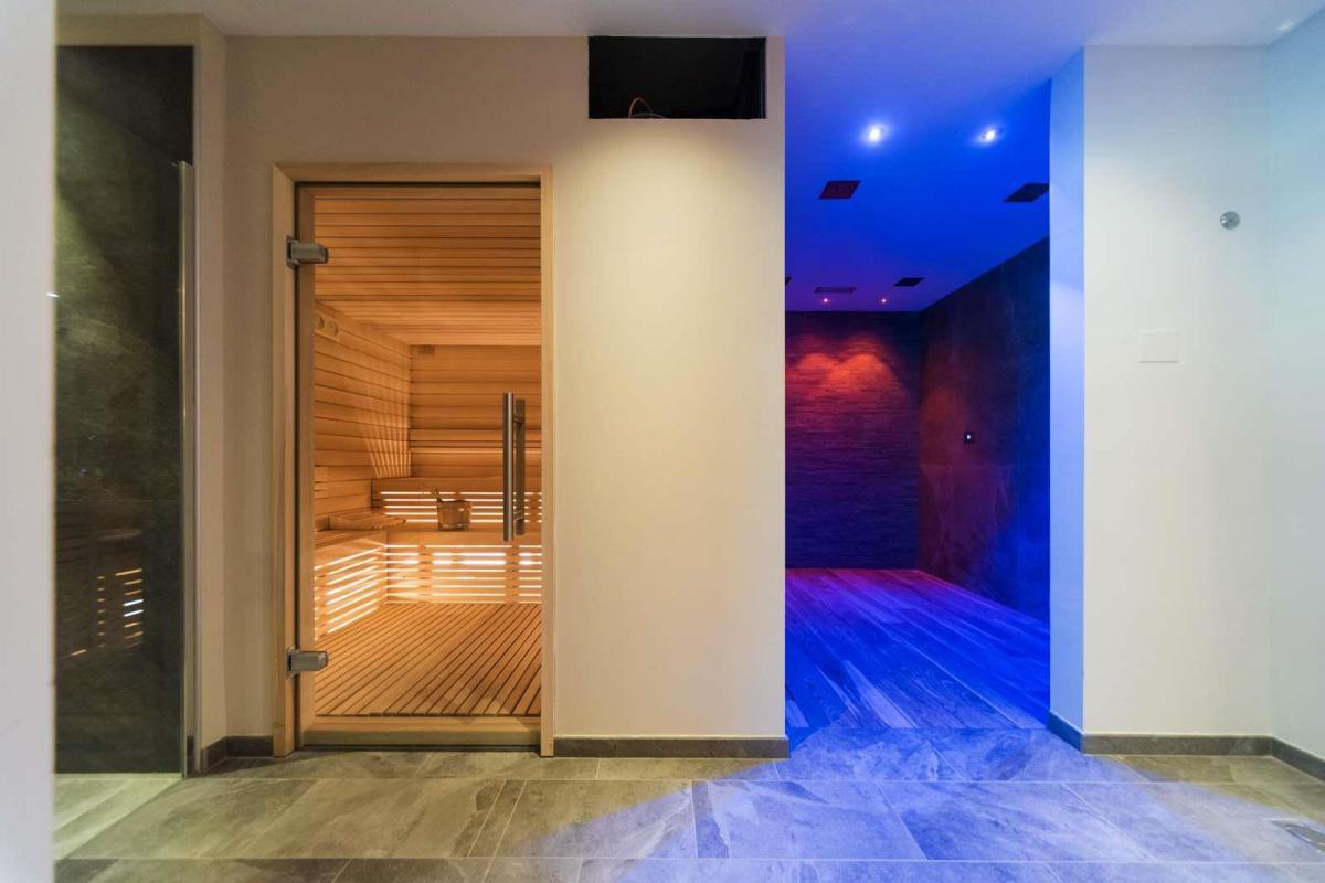 Sauna e docce emozionali