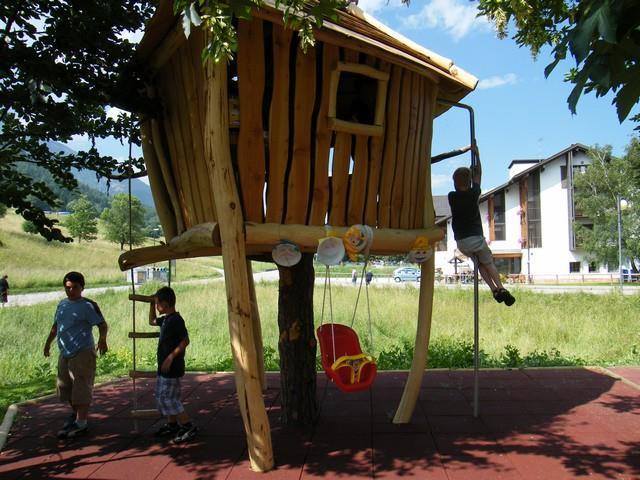 casetta giochi bambini Andalo