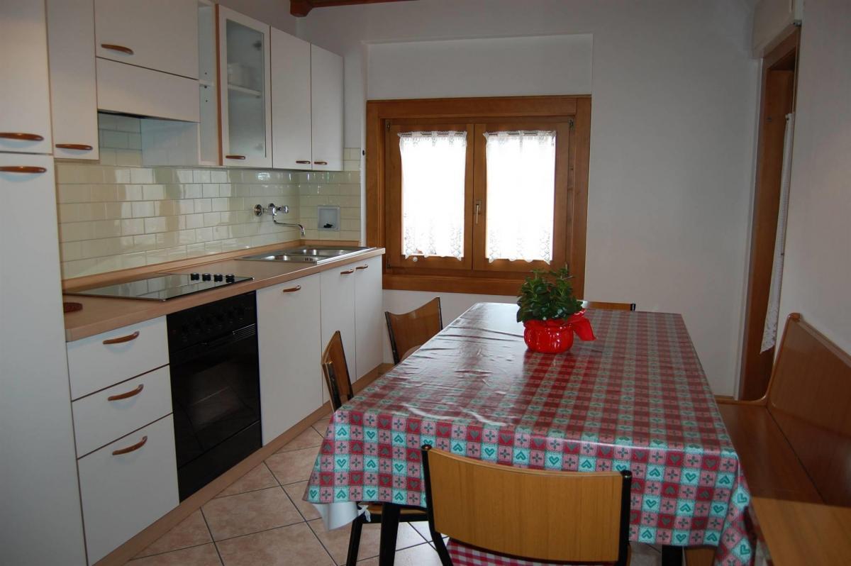 Appartamenti Osti Gino Andalo  cucina