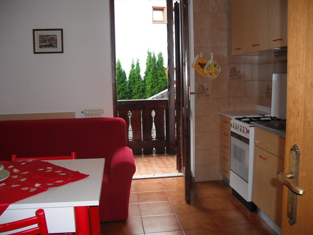 Appartamenti Al Sole - cucina-soggiorno