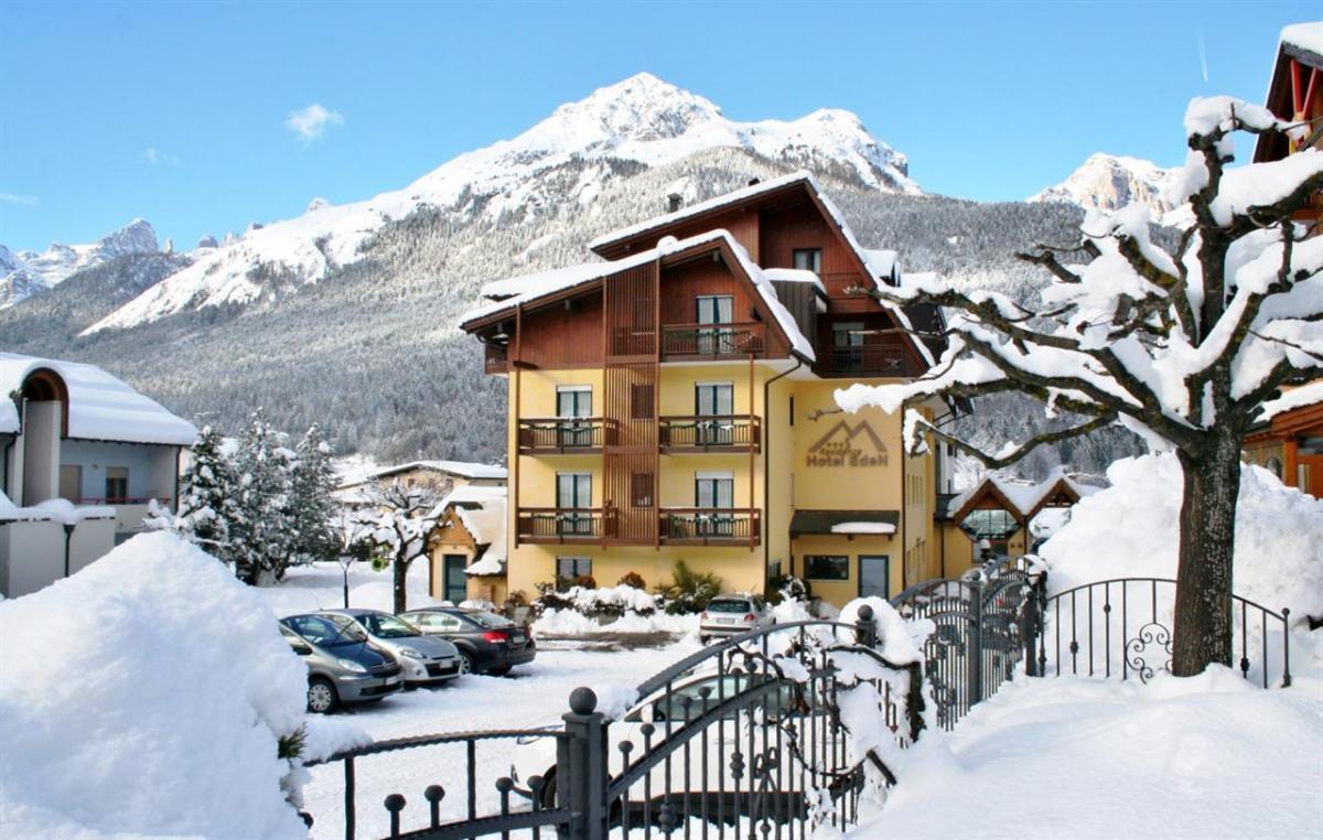 2 Esterno Inverno Hotel Eden Andalo