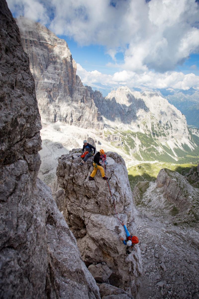 Scalare le Dolomiti di Brenta