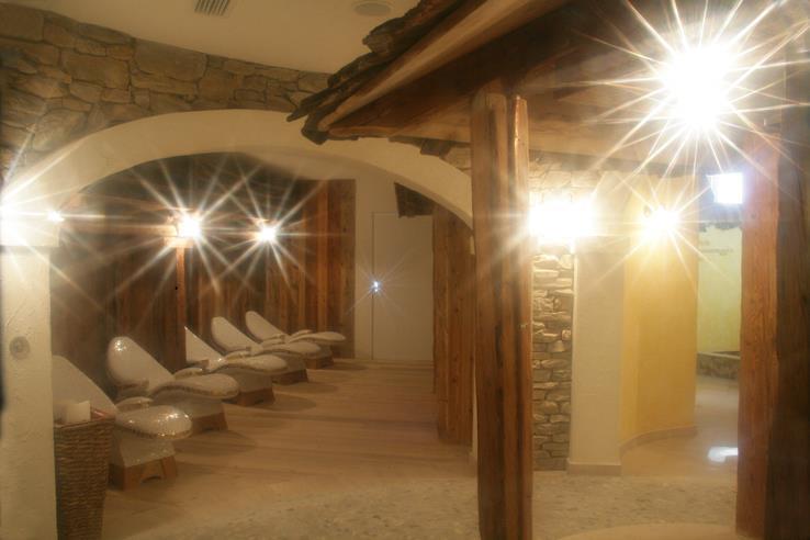 Garnì La Rocca Andalo sala wellness