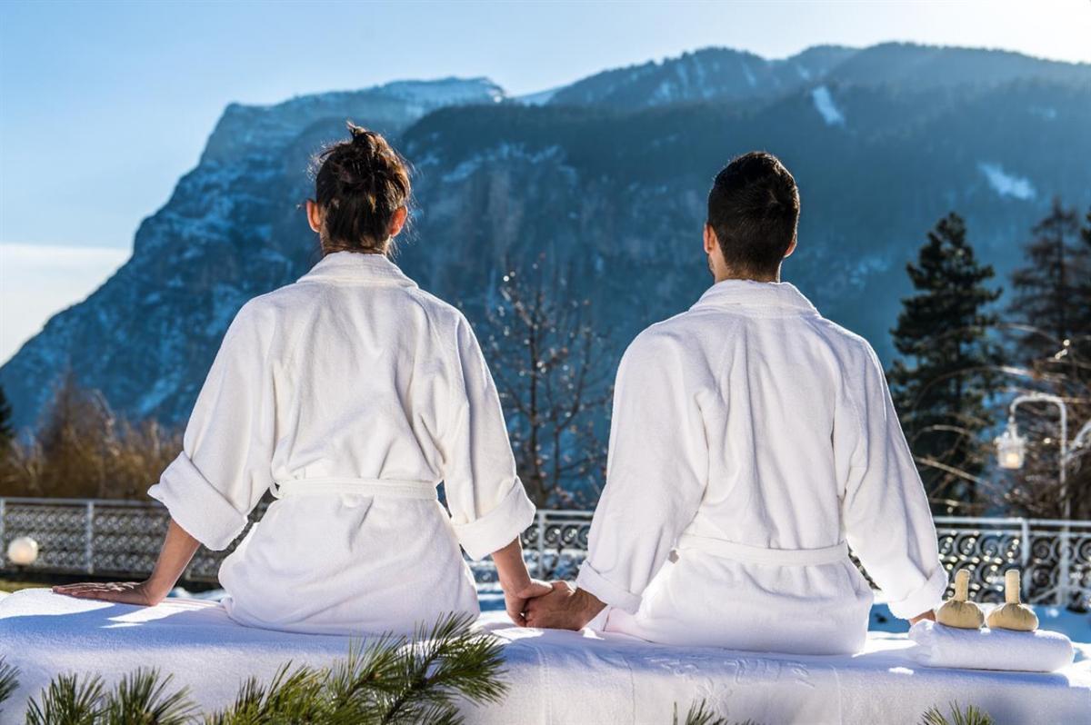 massaggi all'aperto