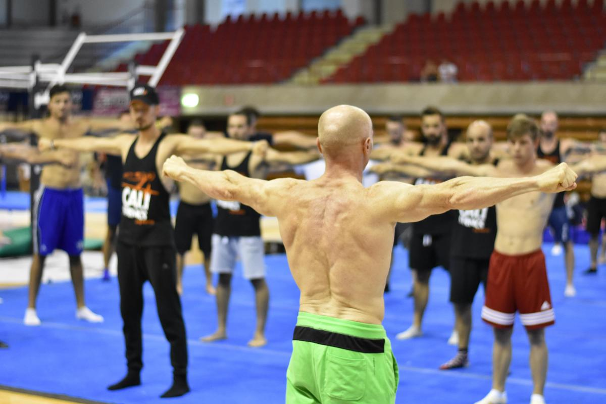 Calisthenics - Jury Chechi Academy in Paganella