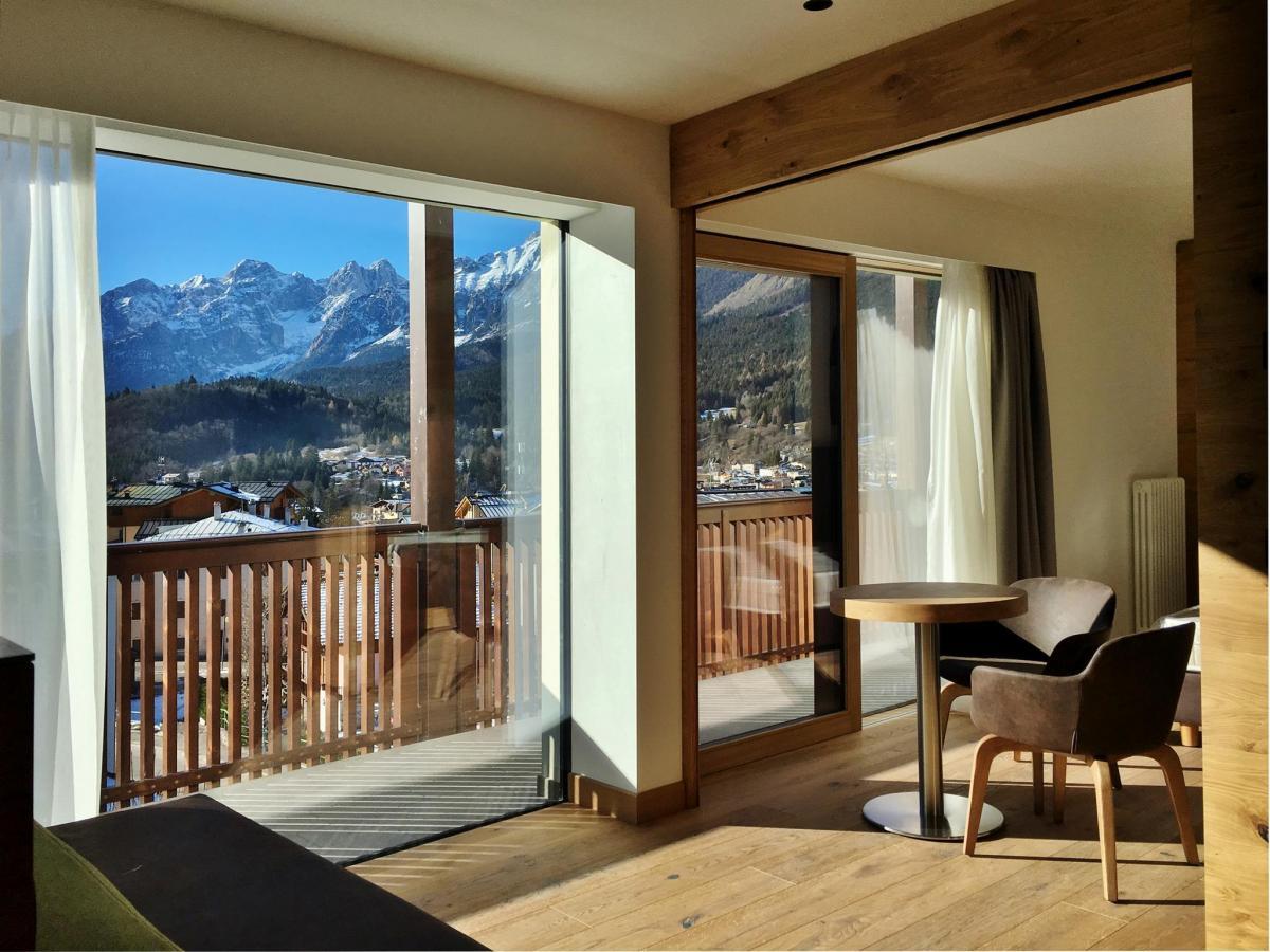 Panorama da Suite Hotel Eden Andalo