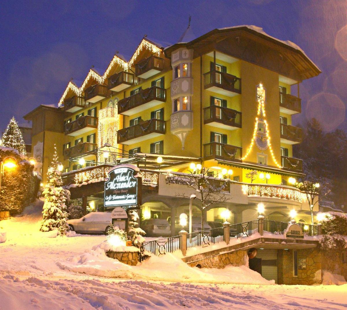 Alexander Hotel  Molveno in Inverno