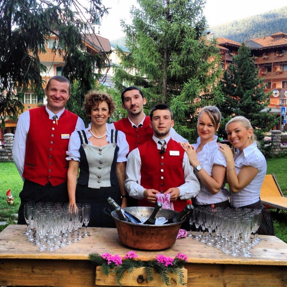 Aperitivo in giardino Park Hotel Sport Andalo