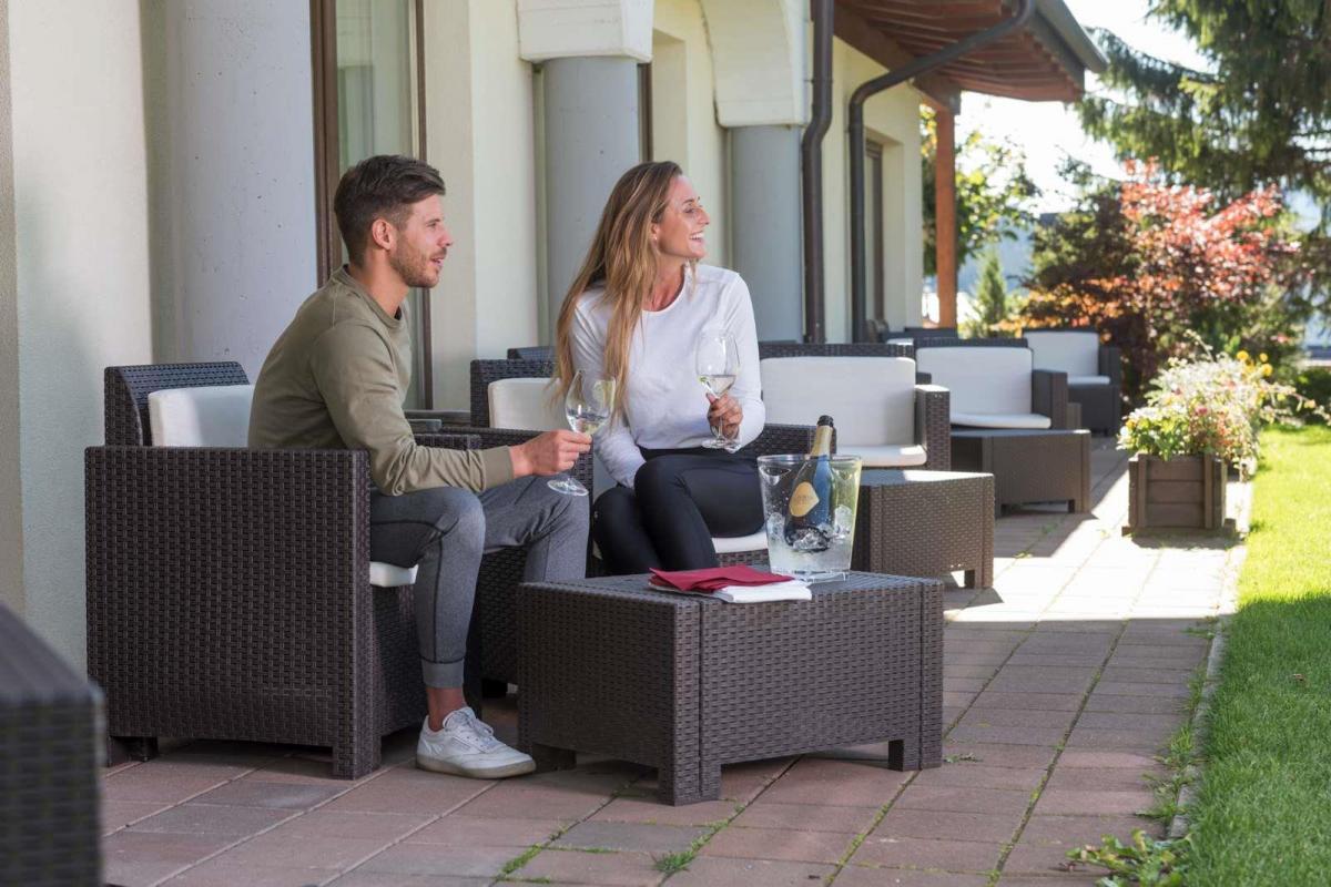 Camera con giardino momenti di relax