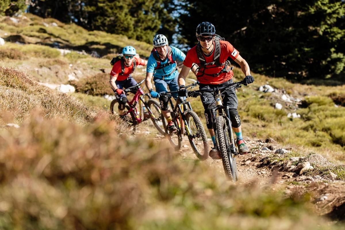 Bikers sul flow trail