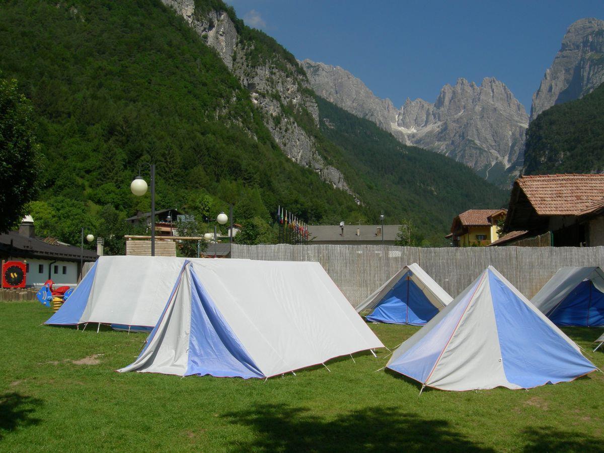 Camping Molveno tende