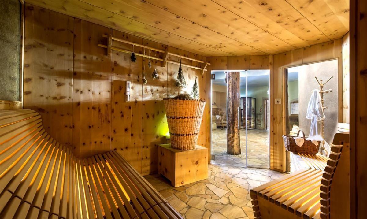 bio sauna al fieno alpino