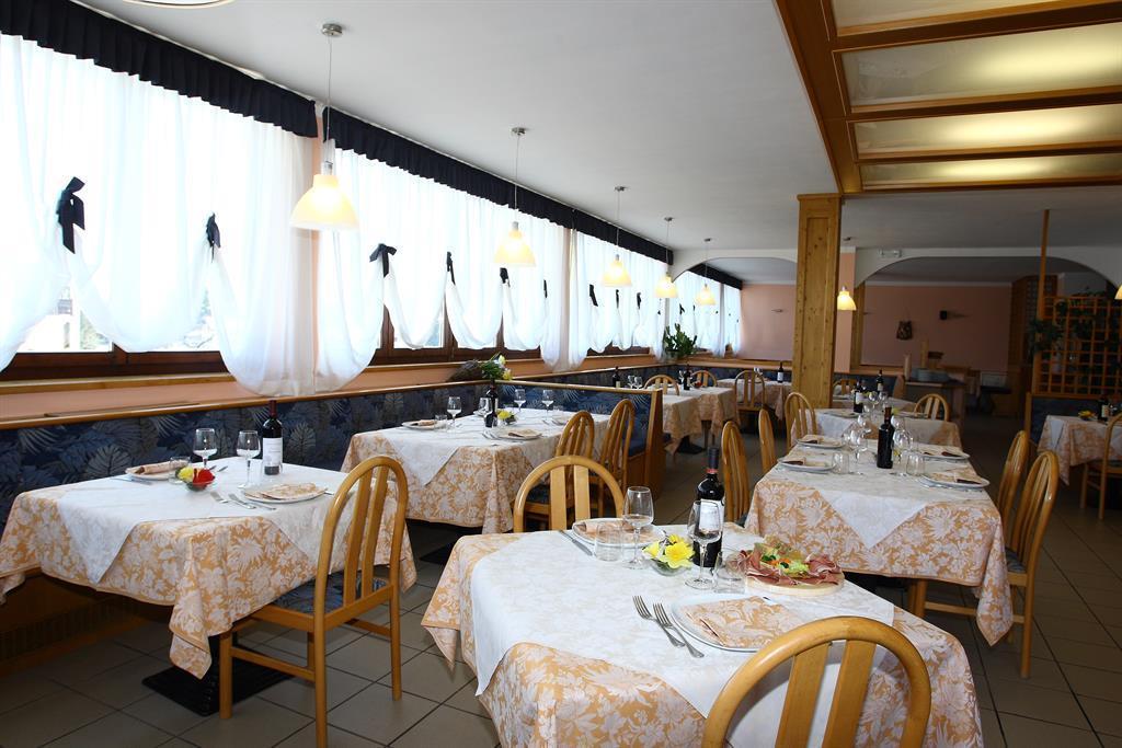 sala da pranzo Hotel Montana