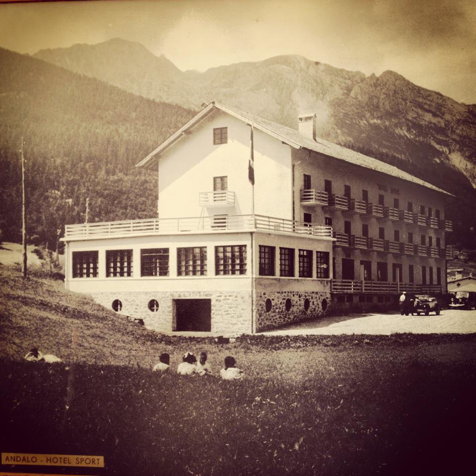 Park Hotel Sport**** di Andalo dal 1936