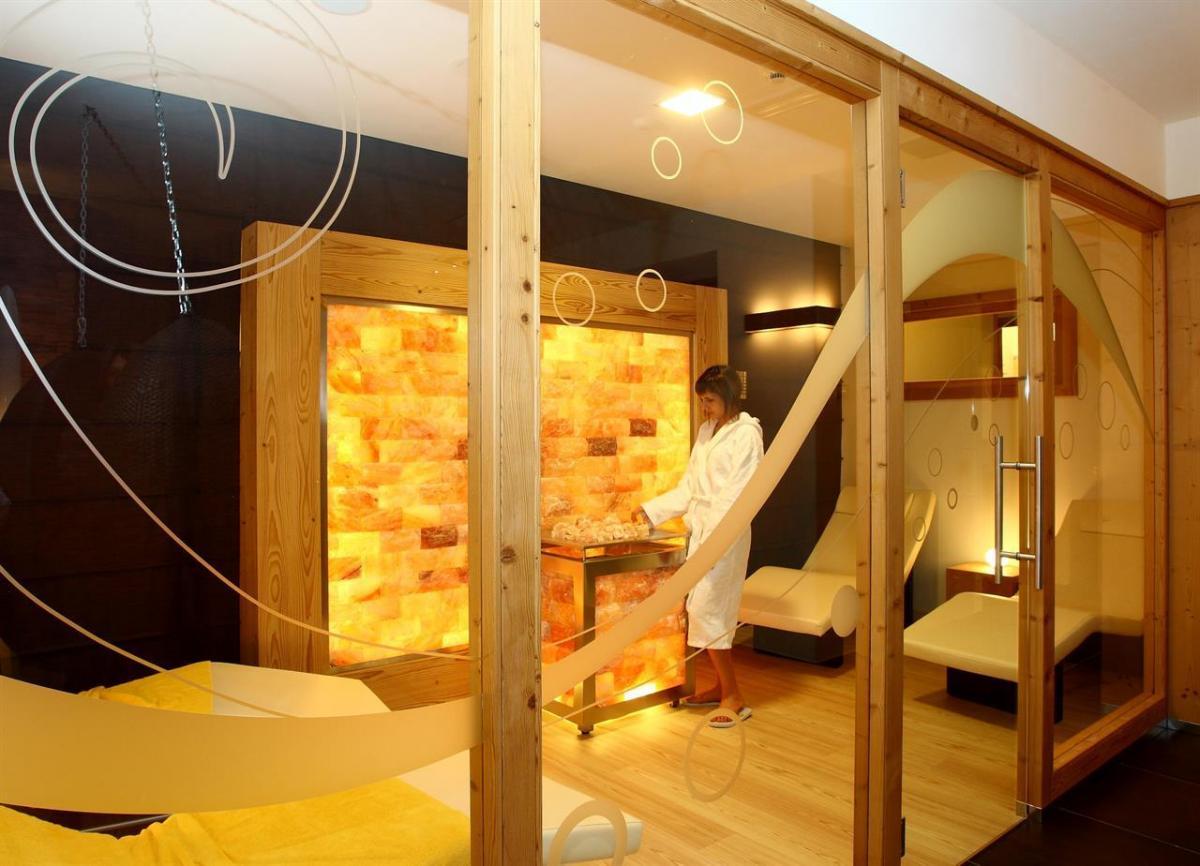 7 Hotel Eden Spa Cabina del sale