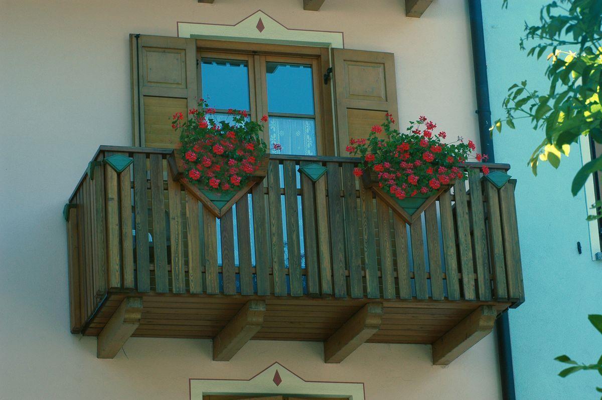 Al Pont di Bottamedi Severino - balcone