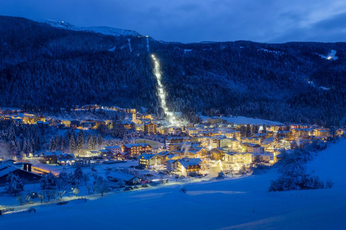 Frizzera - Andalo Inverno Notturna
