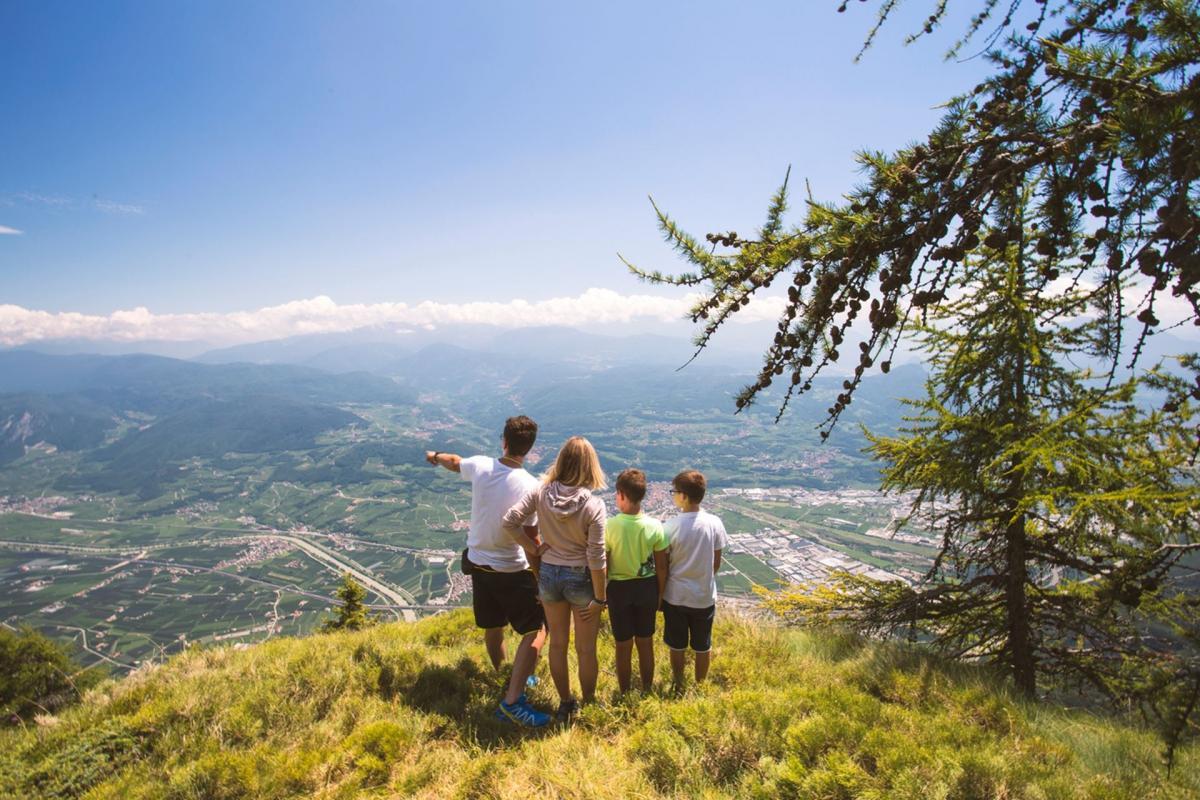 Il balcone sulla Val d'Adige