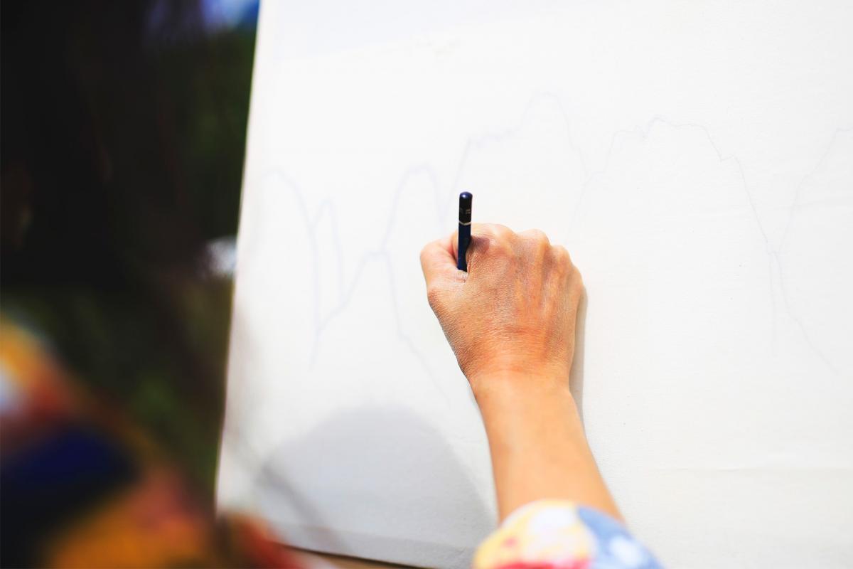 La creazione del disegno