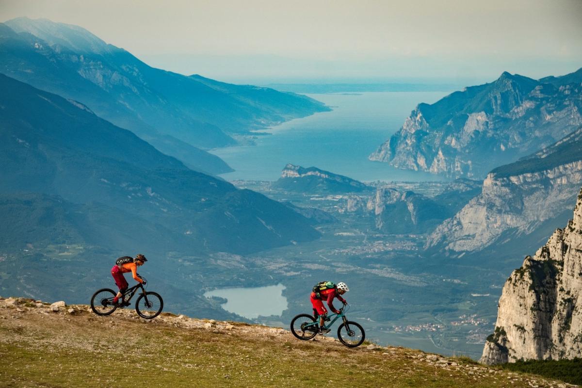 Bear Trails, vista del Lago di Garda