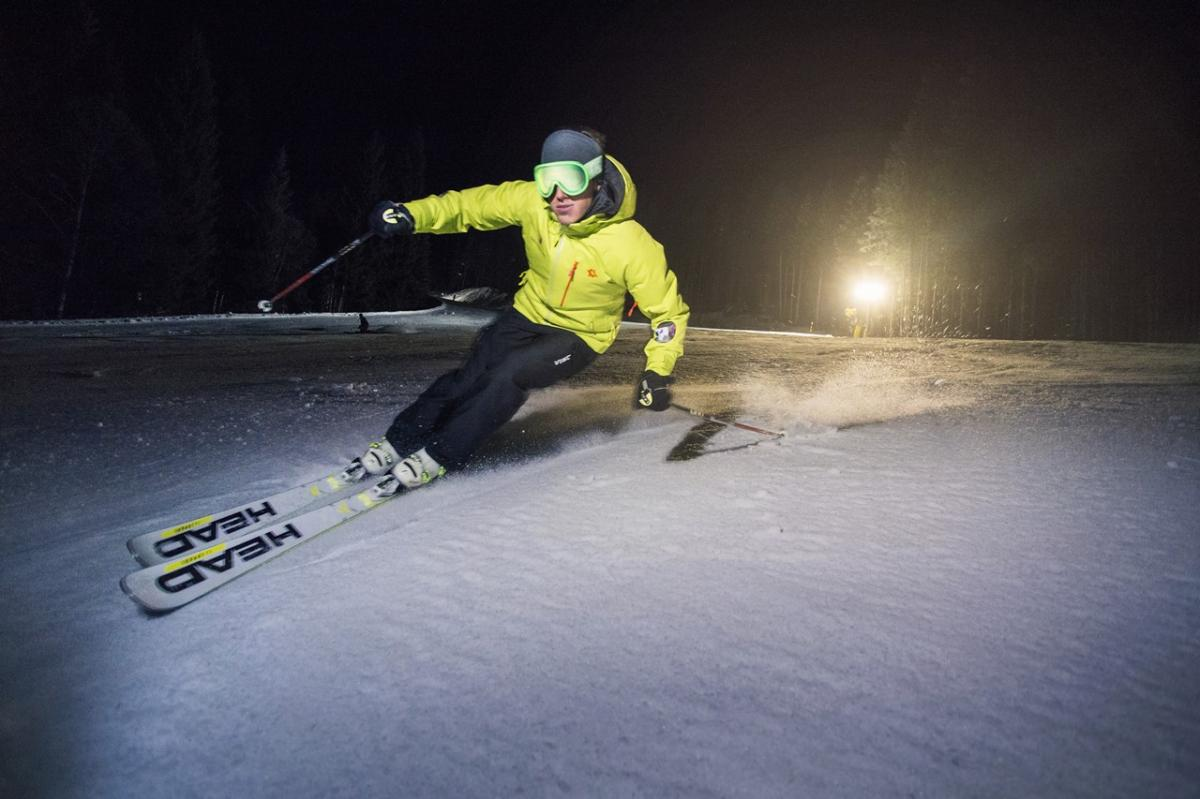 Night Skiing in Paganella