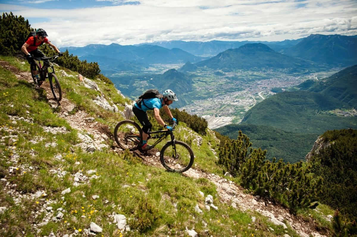 Bear Trails, vista sulla Val d'Adige