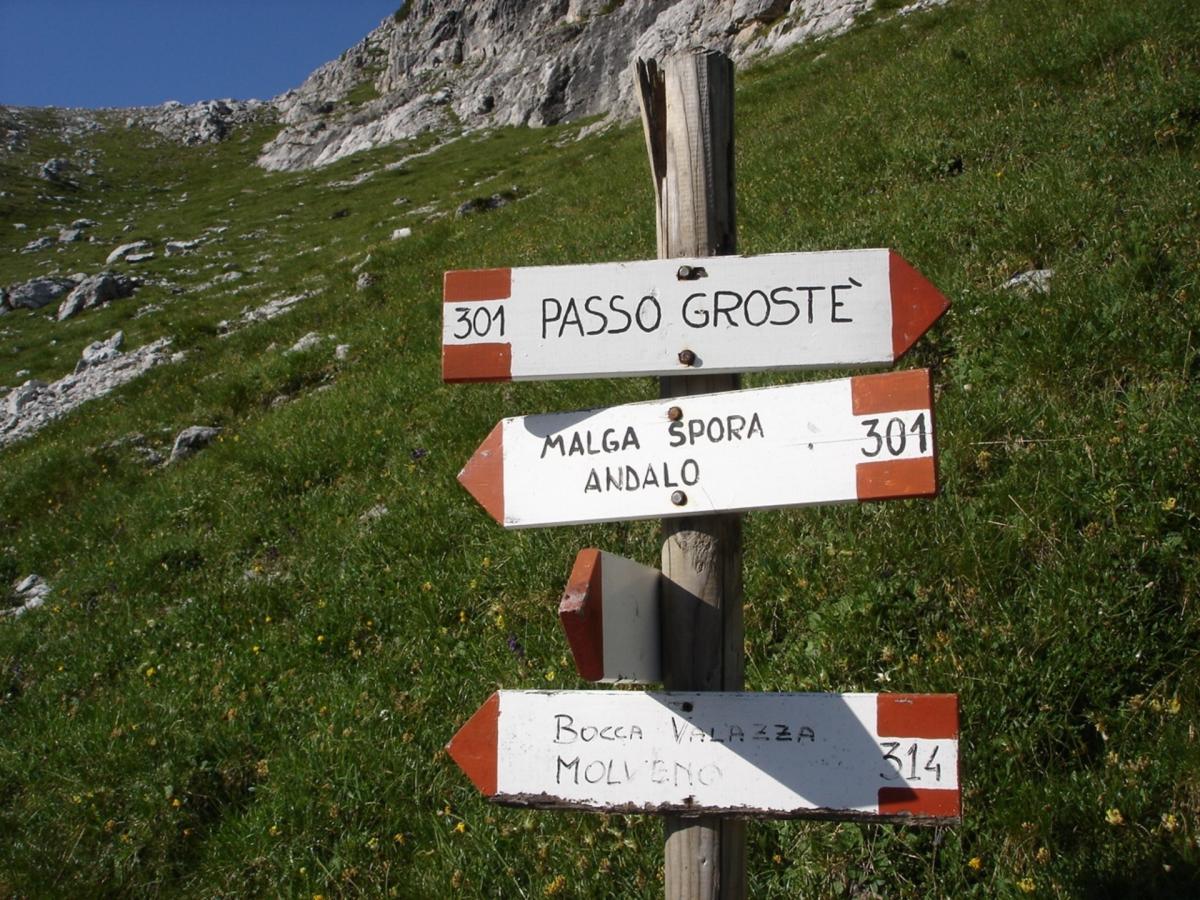 Indicazioni per la Grande Traversata del Brenta
