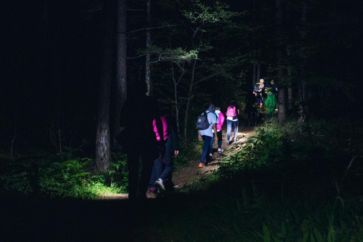 Trekking notturno nelle Dolomiti di Brenta