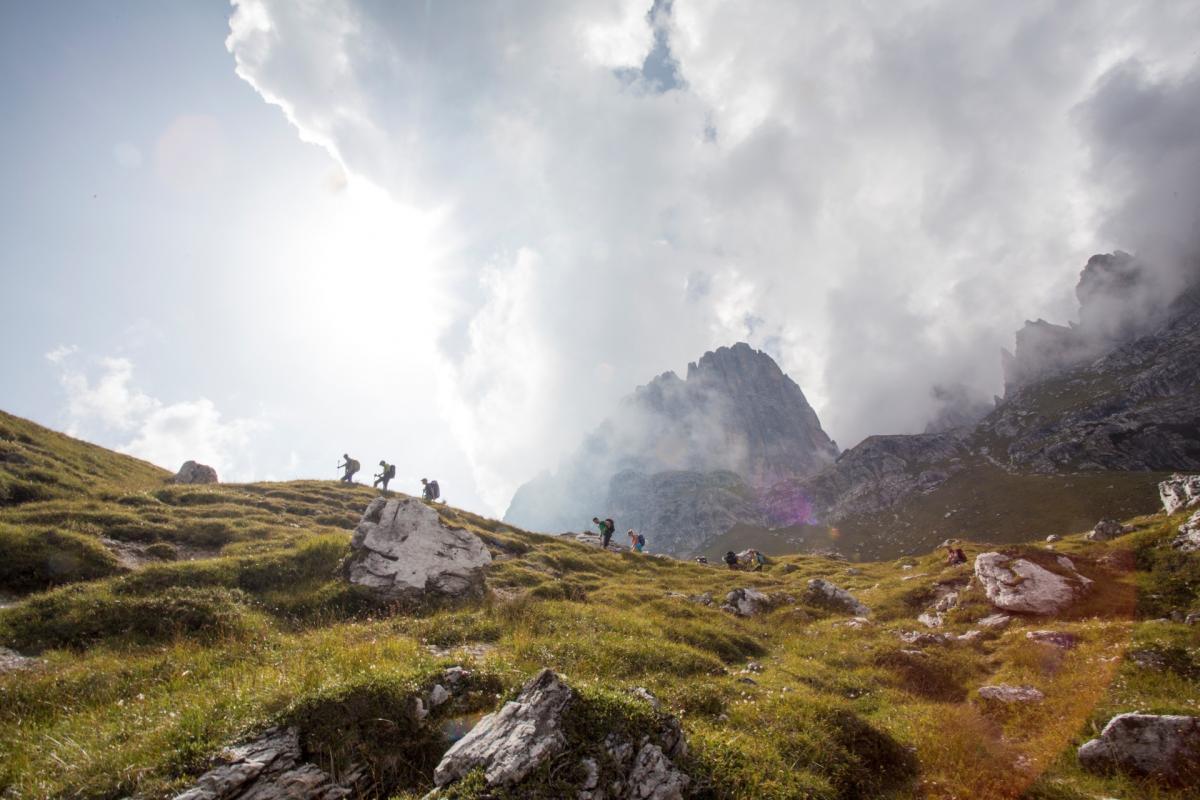 Trekking sulle Dolomiti di Brenta