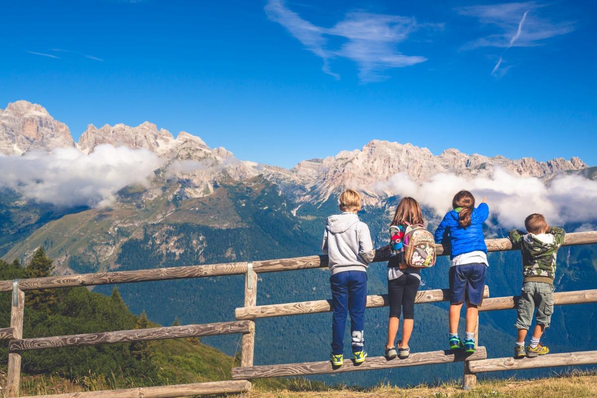 Vacanza in montagna in famiglia in Trentino