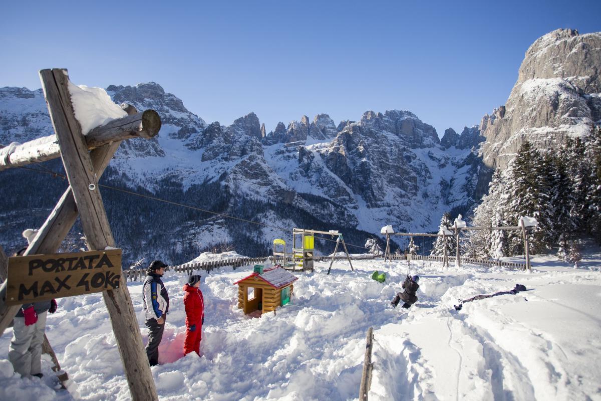 Vacanze sci sulle Dolomiti di Brenta in Trentino